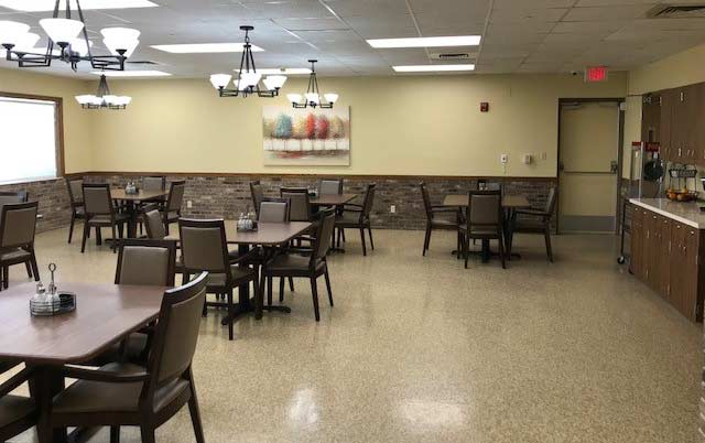 Journey Senior Services Dining Hall