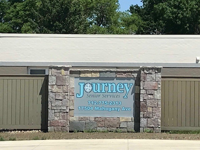 Journey Senior Services Sign